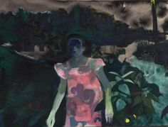 Anthony Cudahy (American, b. Night Walk, Oil and gouache on canvas, 36 × 48 in. Painting People, Artist Painting, Figure Painting, Painting & Drawing, Art And Illustration, Illustrations, Painting Inspiration, Art Inspo, Grunge Art