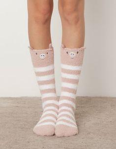 Little pig fleece socks - Socks - Accessories - Spain