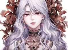 Chica Anime Manga, Manga Girl, Kawaii Anime, Dark Anime Girl, Anime Art Girl, Blonde Hair Anime Girl, Beautiful Fantasy Art, Beautiful Anime Girl, Arte Aries