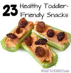Healthy Snacks for Kids: 23 Toddler-friendly Ideas