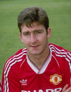 A portrait of Norman Whiteside of Manchester United taken during the club photocall at Old Trafford In Manchester Mandatory Credit Allsport Manchester United Images, Manchester United Legends, Manchester United Players, Old Trafford, Messi, Norman Whiteside, Man Utd Squad, Bristol Rovers, Eric Cantona