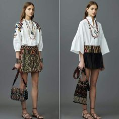 0b84b714bde218 Fashion express  Ethnic Style By Valentino Resort 2017  fashion  ethnic   ethnicstyle