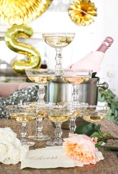Gatsby Coupe from Planning Pretty --A New Year's Eve Bridal Shower for Any Day | Rue