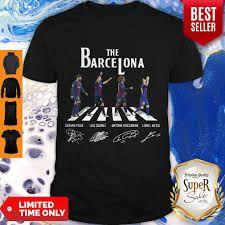 The Barcelona Signature Abbey Road The Beatles Shirt - Custom t-shirts, hoodies, apparel! Beatles Shirt, The Beatles, Custom T, Custom Shirts, Lips Shirt, T Shirt, Abbey Road, Thin Blue Lines, Hoodies