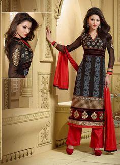 #Dazzling #Black #Georgette #Designer #Wedding #Salwar #Kameez #BollywoodSuit #UrvashiSalwarKameez #latestSalwarKameez #LatestPrice