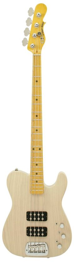 G&L ASAT Bass Guitar Blonde