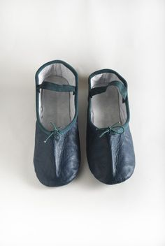 Teal Ballet Shoe @ www.lingeshoes.com   Forget TOMS ballet flats i want these!!!