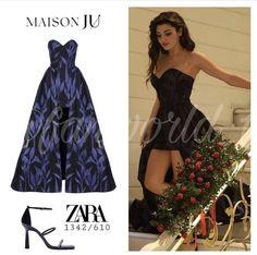 Turkish Fashion, Turkish Beauty, Perrie Edwards Style, Hande Ercel, Blackpink Photos, Victoria Secret Fashion, Her Style, Strapless Dress, Zara