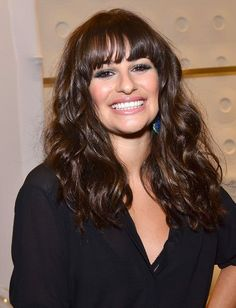 Lea Michelle's glamour waves