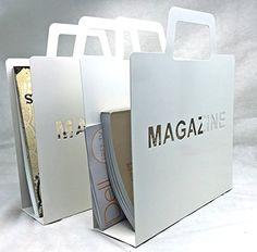 Bellaa 28625 Modern Magazine Rack Metal Home Office Bathroom Set of 2 Modern Magazine Racks, Metal Magazine, Office Bathroom, Bathroom Sets, Magazine Holders, Metal Homes, Home Accents, Home Office, Baths