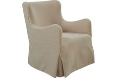 Lee Swivel Overall: W27 D31 H33  Inside: W20 D20 H18  Seat Height: 16 Arm Height: 24  Fabric / Leather: Hunter Flax
