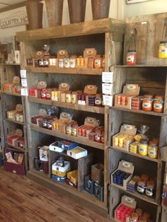 Our retail store has all of our candles on display. Smells great in here! #thecandlecupboard#candle#candles