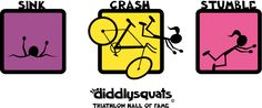 The Diddlysquats Triathlon Hall of Fame Women's Shirt Design