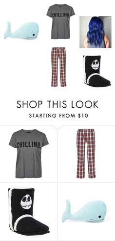 """""""Alexis' pajamas"""" by adara-omgg-laceup on Polyvore featuring interior, interiors, interior design, home, home decor, interior decorating, Topshop, Sleepy Jones and Forever 21"""