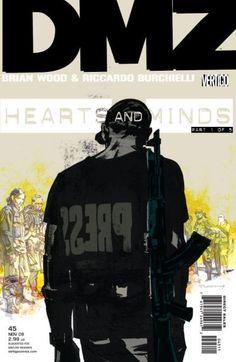 Cover for DMZ #45 (2009)