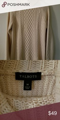 Selling this Talbots sweater on Poshmark! My username is: mlm89673. #shopmycloset #poshmark #fashion #shopping #style #forsale #Talbots #Sweaters