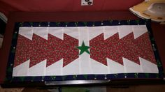Christmas tree runner, gave this one to Kirstyn