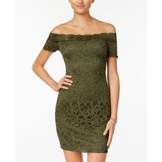 c2fdbacfa13 B Darlin Juniors  Off-The-Shoulder Lace Dress Juniors - Dresses - Macy s