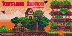 cool Kitsune Zenko Adventure - HTML5 Platform Game (Games)