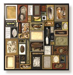 Mixed media boxes by Lisa Nilsson-The Strand