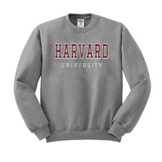 harvard university sweatshirt from teeshope.com This sweatshirt is Made To Order, one by one printed so we can control the quality.