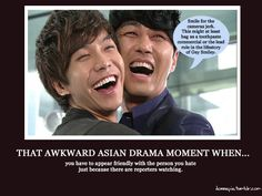 Awkward Drama Moments #kdramahumor HAHAHAHA I Loved this moment, SO HILARIOUS!!!! and I wondered if it were accurate!! ❤❤ Greatest Love ❤