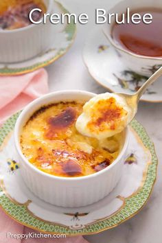 Creamy custard with a caramelized topping, this Crème Brûlée is a classic French dessert that looks fancy but is incredibly easy to make! With this foolproof recipe, you only need five simple ingredients, and you'll have a silky smooth and rich crème brûlée in no time.