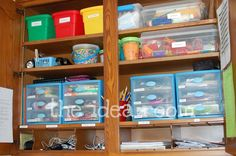 organizing office supplies everything-in-it-s-place