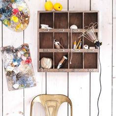 Pigeon Hole Wall Shelf Unit - Storage - Treat Your Home - Home Accessories Shabby Chic Kitchen Shelves, Kitchen Shelving Units, Wooden Bathroom Shelves, Cabinet Shelving, Wooden Bathroom Accessories, Shabby Chic Home Accessories, Wooden Crate Retail Display, Vintage Shelving