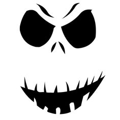 Jack Skellington Die Cut Vinyl Decal PV712