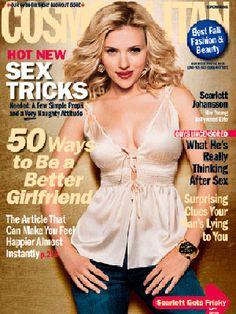 Cosmopolitan September 2005 #ScarlettJohansson
