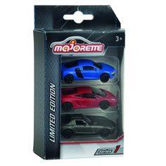 Coffret 3 voitures Majorette