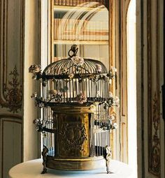 PARAKEET CAGE OWNED BY MADAME DU BARRY AT VERSAILLES