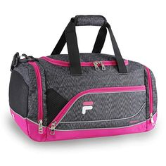 91c8f78ea Fila Sprinter Small Duffel Gym Sports Bag, Static Pink, One Size Review  Best Gym