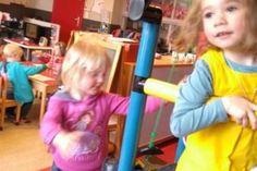 K1B spelen met touwen... | Centrumschool Wingene