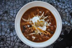 my kaotic kitchen: take my word for it wednesday.. quick and easy chili is the ticket this halloween