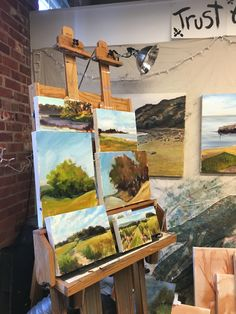 What's on my easel www.creativesoulsart.com