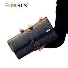 2016 New Women Wallets Genuine Leather Purses Long Wallet Women Billeteras mujer carteira feminina Woman Leather Wallet Purse