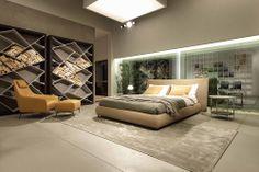 SUITE BED + INSIDE BEDSIDE TABLE