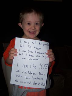 From the Wretched Radio website . . . sad to think this child's life could have been an option.