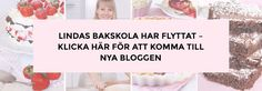 lindas bakblogg Swedish Recipes, Swedish Foods, Baking Items, Fika, Cake Ingredients, Apple Cider, Food And Drink, Cooking Recipes, Sweets