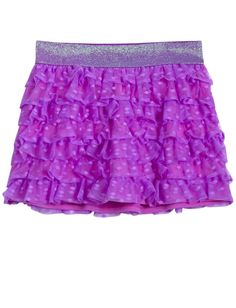Mesh Tiered Knit Skirt | Skirts & Skorts | Clothes | Shop Justice
