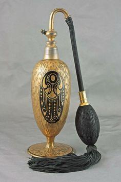 Art Deco perfume atomizer, 1930s. France