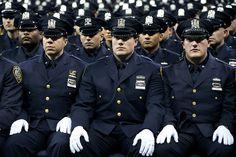 NYPD Graduation Ceremony. Madison Square Garden, New York. Monday, December 29, 2014.