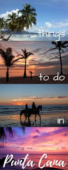 Punta Cana in the Dominican Republic is a dream destination. Here are all our top things to do plus which all inclusive resorts to stay at, excursions to take and other tips to make you vacation the best!