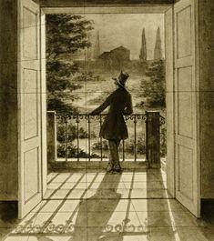 Friedrich Theodor Baasch - View from the Balcony