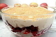 Geheimnis der roten Inge Secret of the Red Inge, a good recipe in the category Fast and easy. Ratings: Average: Ø Dessert Oreo, Oreo Dessert Recipes, Trifle Desserts, Fancy Desserts, Pudding Desserts, Fruit Recipes, Baking Recipes, Cake Recipes, Cake Toppings