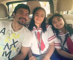 Manny Pacquiao, My Girl, Daddy, School, Girls, T Shirt, Instagram, Tops, Women