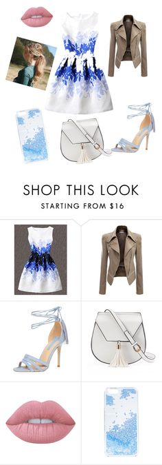 """💋date night💋"" by torie-richards ❤ liked on Polyvore featuring Dorothy Perkins, Yoki, Lime Crime and Skinnydip"
