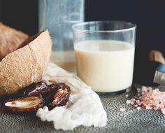 Make Your Own Vanilla Coconut Milk #coconut
